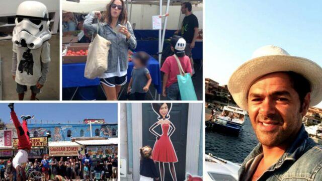 Jamel Debbouze poste des photos de ses vacances avec Mélissa Theuriau et ses enfants