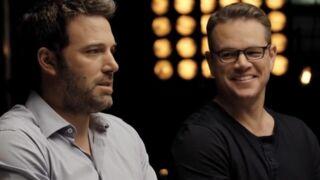 Ben Affleck et Matt Damon produisent et vendent une série à SyFy