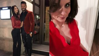 Saint-Valentin : Karine Ferri et Faustine Bollaert décolletées, Nabilla et Thomas amoureux... (PHOTOS)