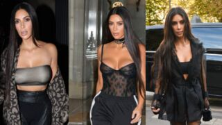 Kim Kardashian : ses tenues hallucinantes à la Fashion Week de Paris (PHOTOS)
