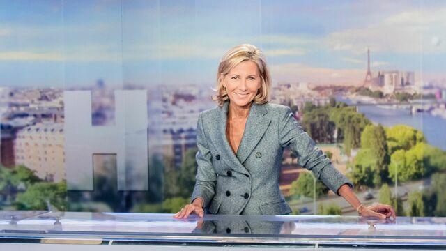 Claire Chazal présentera son dernier JT sur TF1 dimanche 13 septembre