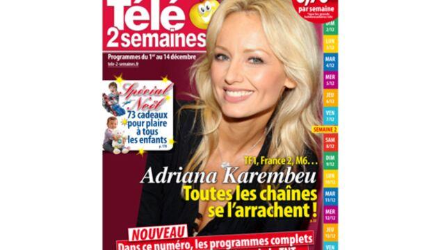 Adriana Karembeu : les chaînes se l'arrachent !