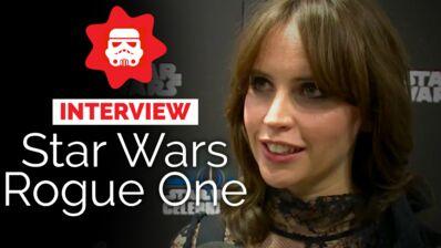 Rogue One (Canal +) : en quoi le film est-il différent des autres Star Wars ? Les stars du film répondent (VIDEO)