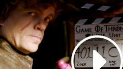Game of Thrones, saison 4 : Fous rires, couronne trop lourde... Regardez le nouveau bêtisier