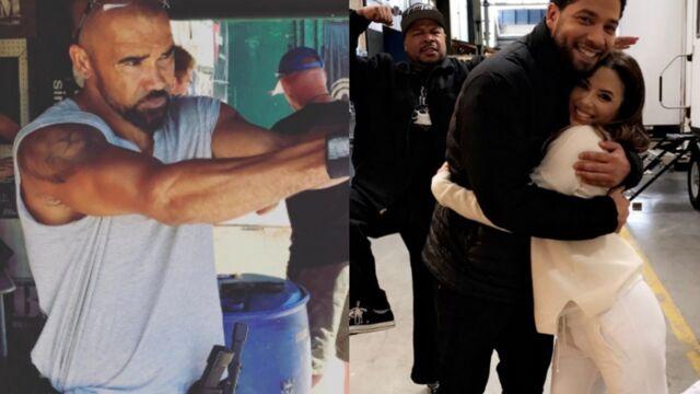 Tournages : Shemar Moore revient dans Esprits criminels, Eva Longoria s'invite dans Empire… (PHOTOS)