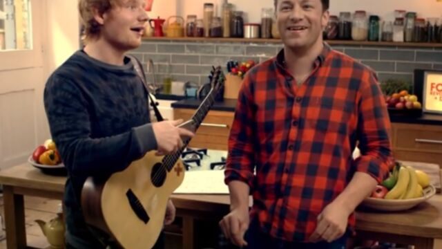 Jamie Oliver, Paul McCartney, Ed Sheeran et Hugh Jackman font la Révolution (VIDEO)