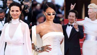 Cannes 2017 : Rihanna en mode diva, Juliette Binoche en total look blanc ! (35 PHOTOS)