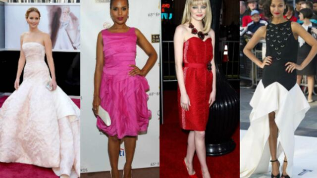 Quelle est la star la mieux habillée de 2013 ? (PHOTOS)