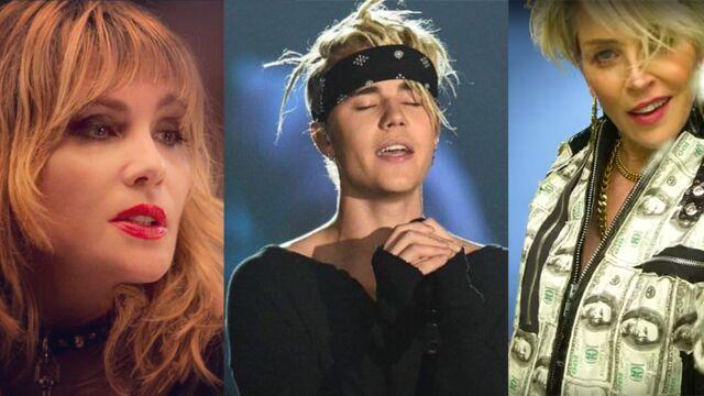 Ils ont buzzé : Emmanuelle Seigner et Lola Marois Bigard défendent leur époux, Justin Bieber boude, Sharon Stone rappe...