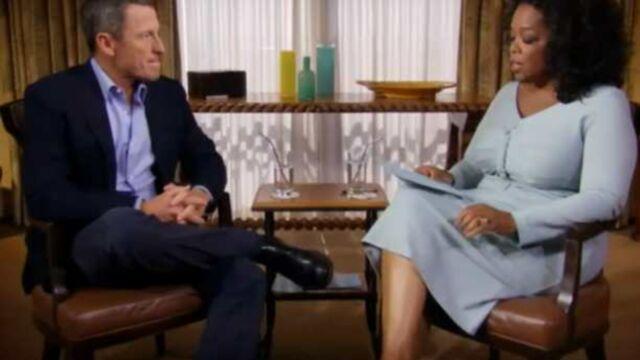 Lance Armstrong a avoué devant Oprah Winfrey