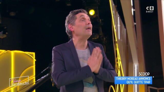 Thierry Moreau annonce par surprise son départ de Touche pas à mon poste (VIDEO)