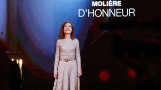 Les Molières 2017 : Isabelle Huppert encore une fois récompensée
