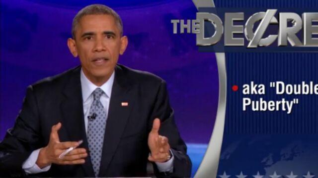 Barack Obama devient animateur de télé (VIDEO)