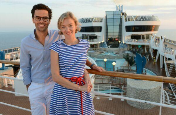 France 5 : Maya Lauqué et Thomas Isle s'éclatent sur un bateau (VIDEO)