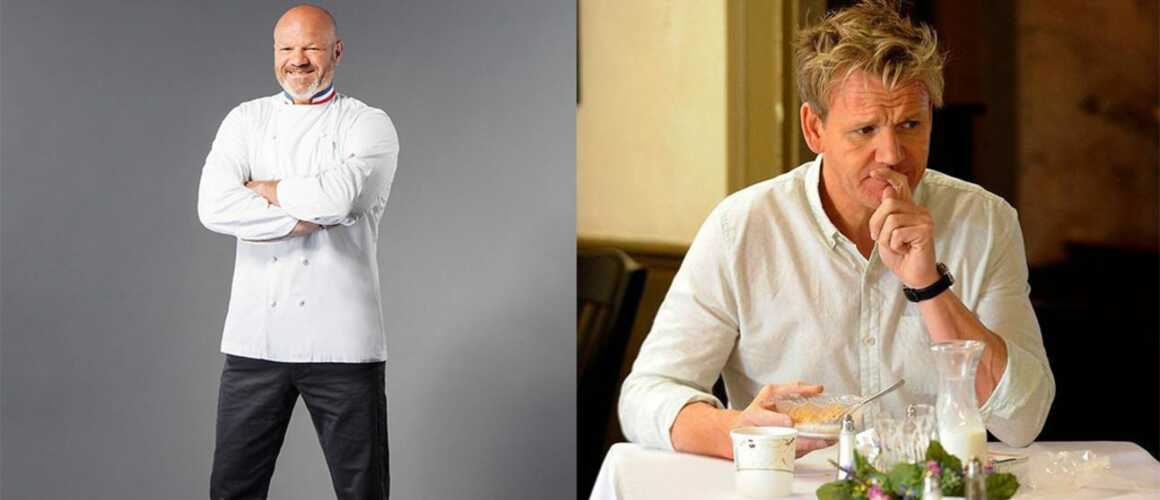 cauchemar en cuisine philippe etchebest vs gordon ramsay qui remporte le match. Black Bedroom Furniture Sets. Home Design Ideas