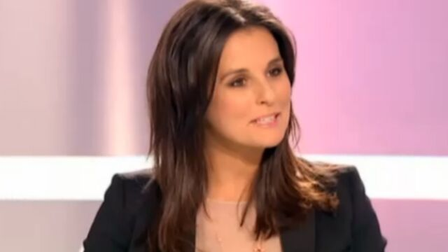 Faustine Bollaert annonce sa grossesse en direct