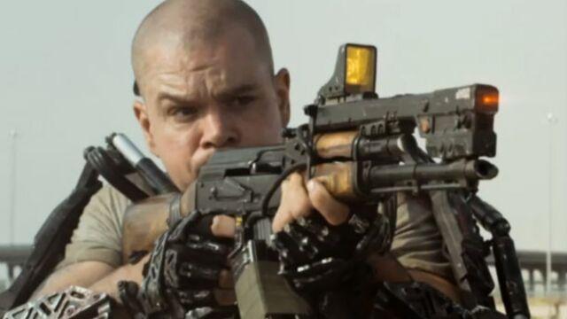 Une première bande-annonce pour Elysium avec Matt Damon (VIDEO)