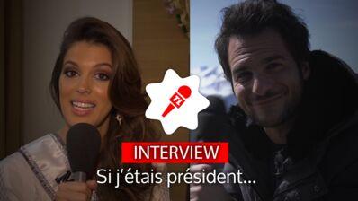 Élection présidentielle : Iris Mittenaere, Amir, Jarry... Que feraient-ils s'ils étaient président ? (VIDEO)