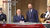Découvrez les images de la passation de pouvoir d'Edouard Philippe, nouveau Premier Ministre (VIDEO)