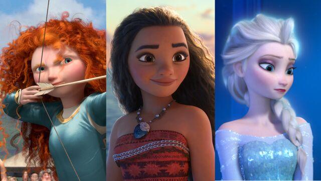 De Blanche Neige à Vaiana... quand les princesses Disney s'émancipent (21  PHOTOS) - cinema - Télé 2 semaines