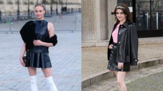Game of Thrones : Sophie Turner et Maisie Williams font le show à Paris (PHOTOS)