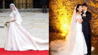 Kate Middleton, Diana, Katie Holmes... Les plus belles robes de mariée des stars ! (19 PHOTOS)