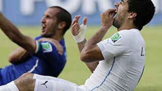 Coupe du monde 2014 : Après sa morsure, Luis Suarez est suspendu par la FIFA