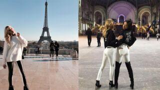 Kendall Jenner, Adriana Lima... Les top-models Victoria's Secret s'éclatent à Paris ! (17 PHOTOS)