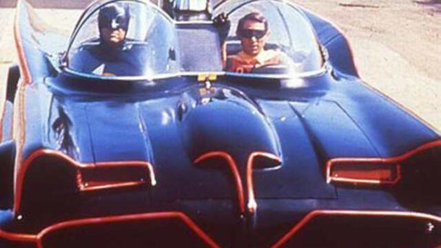 La Batmobile de la série télé Batman vendue aux enchères
