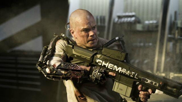 Audiences : Matt Damon et son Elysium, un carton sur TF1