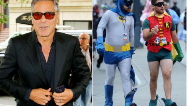 George Clooney, Lucy Liu, Jennifer Morrison, tous fous du Comic Con (PHOTOS)