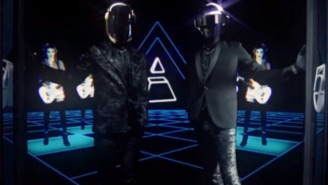 Daft Punk : les Français sont nominés aux Grammy Awards ! (VIDÉO)
