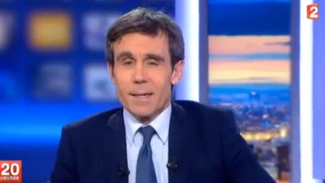 Interruption du 20 heures par des intermittents : David Pujadas s'explique (VIDEO)