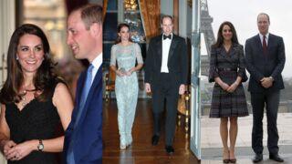 Dîners, visites, Rugby... Les photos de Kate Middleton et du prince William à Paris ! (DIAPO)