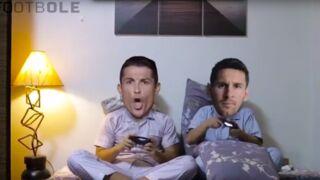 """Football. Messi et Ronaldo, meilleurs """"Friends"""" dans une vidéo cocasse"""