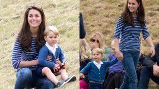 Kate Middleton : Première sortie officielle avec le prince George depuis la naissance de Charlotte (16 PHOTOS)