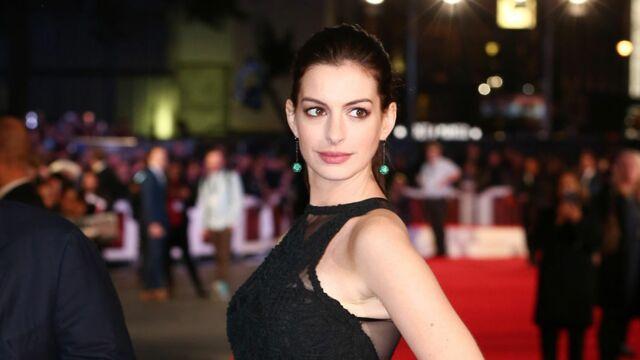 Félicitations ! Anne Hathaway est enceinte !