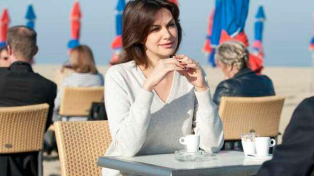 Héléna Noguerra et Elisa Tovati en tournage pour France 2