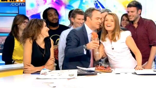Belle surprise en plein direct pour un journaliste de BFMTV (VIDÉO)