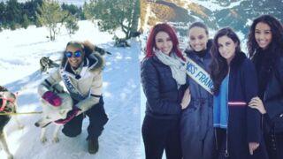 Miss France 2017 : pour la première fois de sa vie, Alicia Aylies découvre les joies de la montagne (PHOTOS)