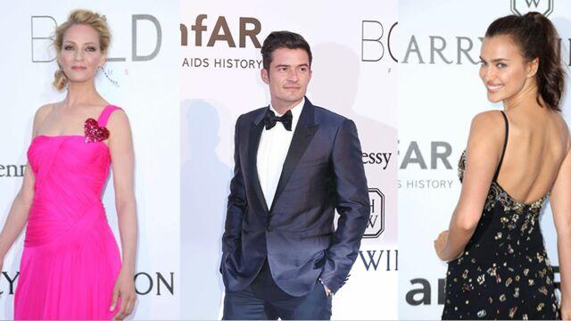 Cannes 2016 : Gala de l'AmfAR - Uma Thurman, Orlando Bloom, Irina Shayk… Un défilé de stars sur leur 31 ! (65 PHOTOS)