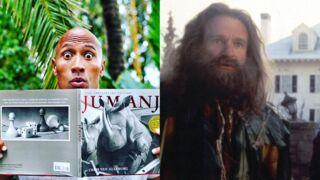 Dwayne Johnson, au casting du reboot de Jumanji, rend déjà hommage à Robin Williams (PHOTO)