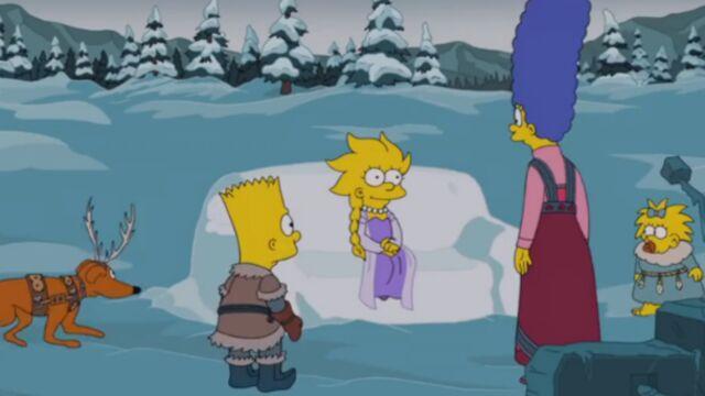 Lisa Simpson, la nouvelle Reine des neiges (VIDEO)