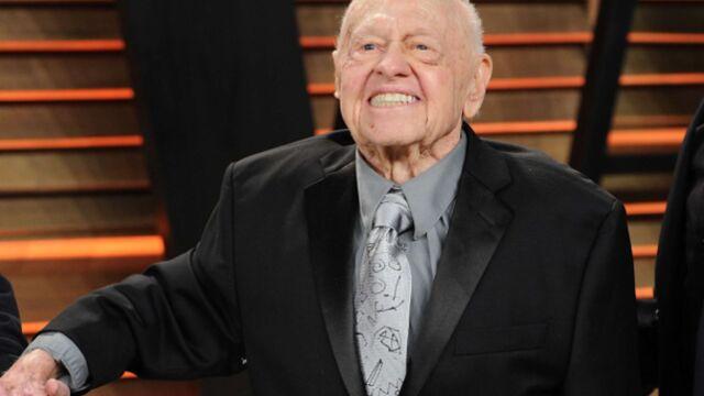 Mickey Rooney, légende de Hollywood, est mort à 93 ans