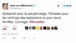 Attentats de Bruxelles : Les réactions des politiques sur les réseaux sociaux