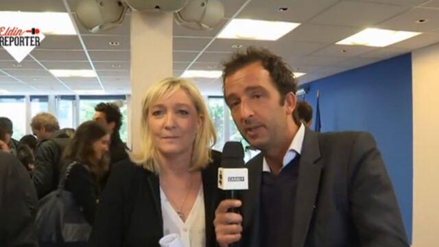 Equipe du Petit journal agressée lors d'un défilé du FN : La réponse inattendue de Marine Le Pen (VIDEO)