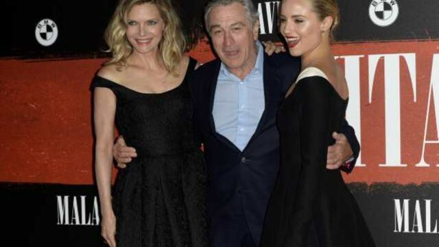 Luc Besson présente Malavita avec Robert De Niro et Michelle Pfeiffer (PHOTOS)
