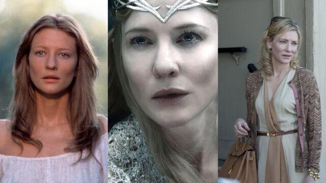 Elizabeth (Arte) : Cate Blanchett, son évolution physique à travers ses rôles (PHOTOS)