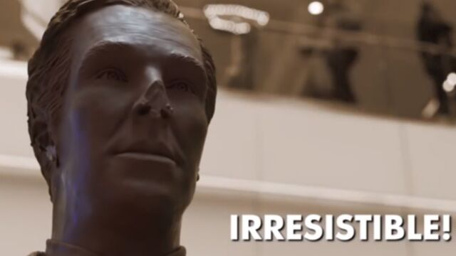 Insolite : une réplique de Benedict Cumberbatch… en chocolat ! (VIDEO)