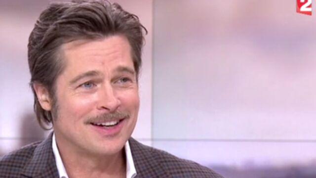 Brad Pitt répond à Laurent Delahousse (VIDÉOS)
